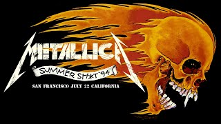Metallica: Live in Mountain View, CA - July 22, 1994 (Full Concert)