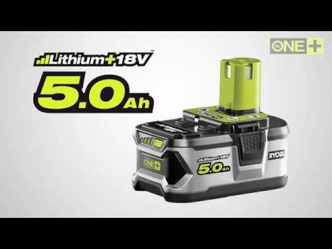 Ryobi Batteri RB18L50 - film på YouTube