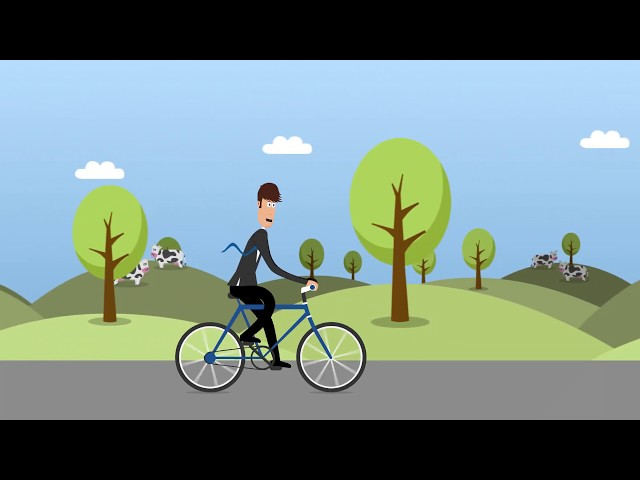Animatiefilm over de Fietsverzekering van Allianz Global Assistance