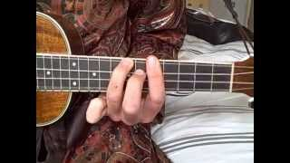 How To Play 'Smoke On The Water' Using Barre Chords On The Ukulele