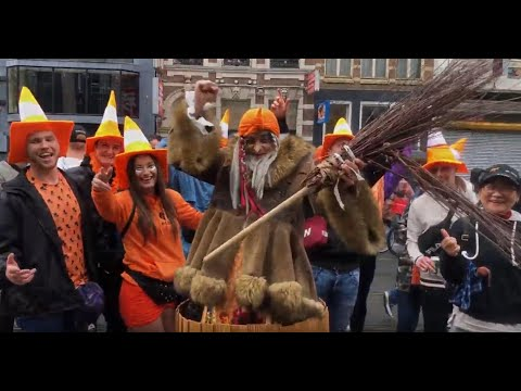 Baba Yaga in Holland, Amsterdam! Celebrate-The Day Of The King!