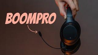 V-Moda Boom Pro Microphone Unboxing & Sound Test