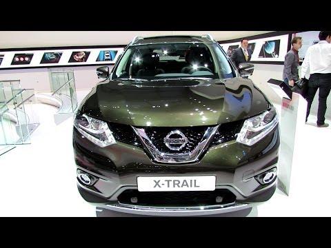 2015 Nissan X-Trail Diesel - Exterior and Interior Walkaround - Debut at 2014 Geneva Motor Show
