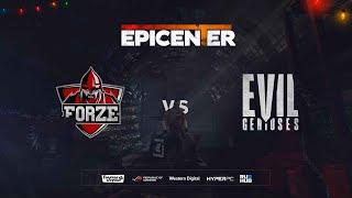 ForZe vs Evil Geniuses - EPICENTER 2019 - map1 - de_mirage [PCH3LK1N & TheCraggy]