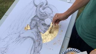 How to Gold Leaf Tutorial