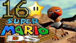 SUPER MARIO 64 DS   Stella #16   Deserto Ingoiatutto   Tra Gli Artigli Del Grande Uccello