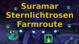 Kräuterkunde Farm Guide: Sternlichtrosen in Suramar farmen