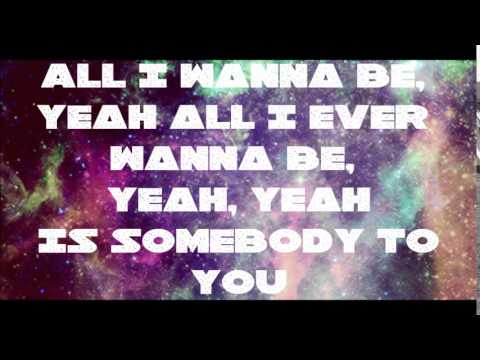 The Vamps - Somebody To You ft Demi Lovato (LYRIC VIDEO)