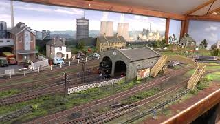 Tour Of Dave`s New Layout 2019 Completed...with A Run Around