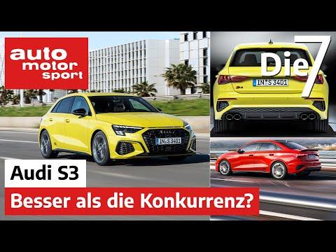 Besser als die Konkurrenz? 7 Fakten zum neuen Audi S3 (2020) | auto motor und sport