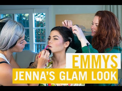HOW TO: Red Carpet Glam Makeup | Emmy Edition | Jenna Dewan