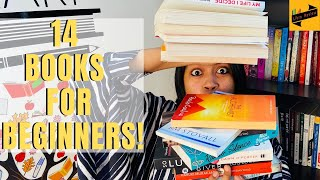 14 MUST READ BOOKS For BEGINNERS   8 Fiction Books   6 Non-Fiction Books   Libro Review