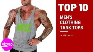 Mens Clothing Tank Tops Top 10 On AliExpress