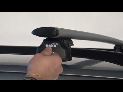 Střešní nosič HYUNDAI LAVITA s podélníky, Wing Profile