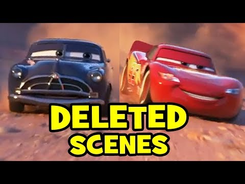 Cars 3 DELETED SCENES & Alternate Endings