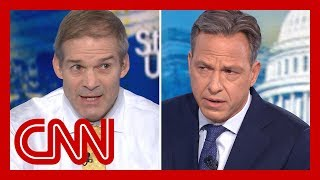 Jake Tapper fact-checks Rep. Jim Jordan on Ukraine scandal