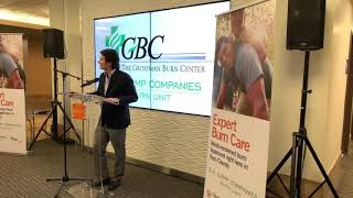 GBC at Memorial Hospital Burn Unit Dedication