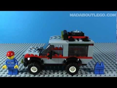 Vidéo LEGO City 4433 : Le transporteur de motos tout-terrain