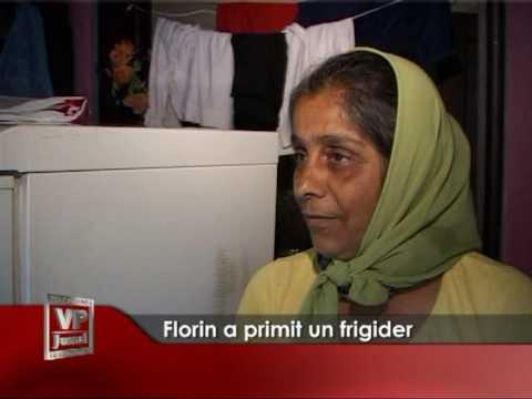 Florin a primit un frigider