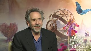 Tim Burton on 'Alice Through the Looking Glass' and Producing the Sequel by Collider