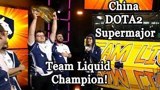 Team Liquid champion 🏆 Tournament champions Grand Final vs Virtus.pro Winning moment #CyberWins
