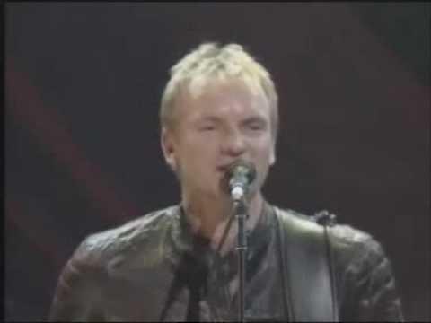 Sting - If You Love Somebody Set Them Free (live) [HQ]