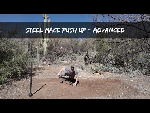 Steel Mace Advanced Push Up