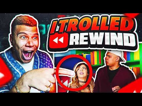 REACTING TO YouTube Rewind 2017 (I TROLLED IT LOL)