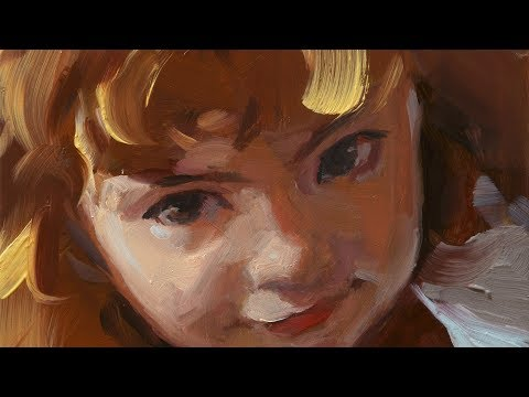 Minnow - Painting a Child's Portrait in Oil Paint
