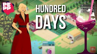Youtube thumbnail for Hundred Days Review | Strategic wine crafting