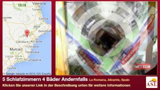 preview picture of video '5 Schlafzimmern 4 Bäder Andernfalls zu verkaufen in La Romana, Alicante, Spain'