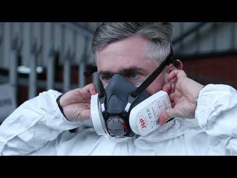 JSP® Force 8™ PressToCheck™ Half Mask and Filter Kits | Seton UK