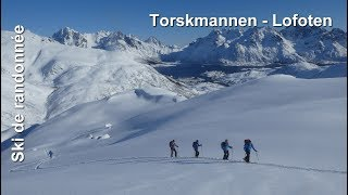 Ski de randonnée - îles Lofoten : Torskmannen - 755m