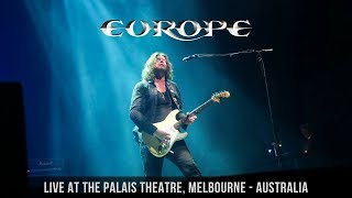 Europe - Stormwind (Live at the Palais Theatre, Melbourne - Australia, May 19th 2018)