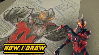 Cara Menggambar Ultraman Belial ฟรวดโอออนไลน ดทวออนไลน