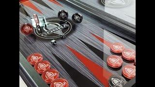 "Нарды стеклянные / Backgammon glass / ""Mustang-Shelby-Cobra"" - дорогой подарок мужчине."