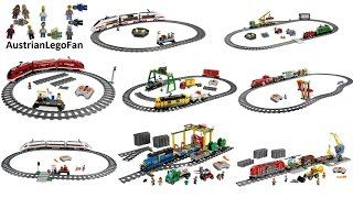 All Lego City Train Sets made between 2006 - 2015 - Lego Speed Build Review