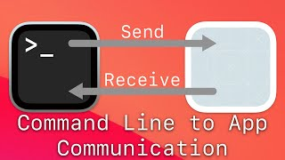 Command Line to Mac App Communication