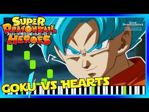 Goku Vs Hearts Naotoshi Shida Scene on Piano. Dragon Ball Heroes OST Cover