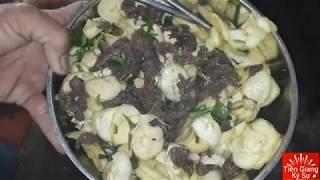 Cách Làm Món Thịt Bò Tái Chua Chuối Chát |đắt Tiền Nhưng Bổ Dưỡng Tốt | Tiền Giang Ký Sự Tập 35