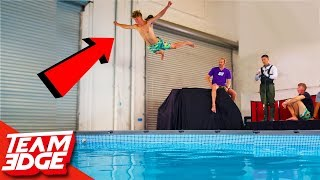 Belly Flop Punishment Challenge!!