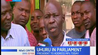 Reactions of Mombasa residents comment on Uhuru's address to the parliament