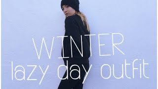 Winter Lazy Day Outfit (OOTD)