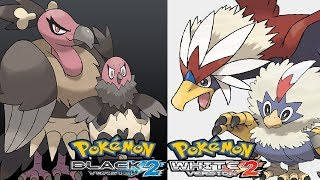 Mandibuzz  - (Pokémon) - Pokemon Black 2 & White 2 - How to get Vullaby/Mandibuzz or Rufflet/Braviary (Pokemon Exclusives)