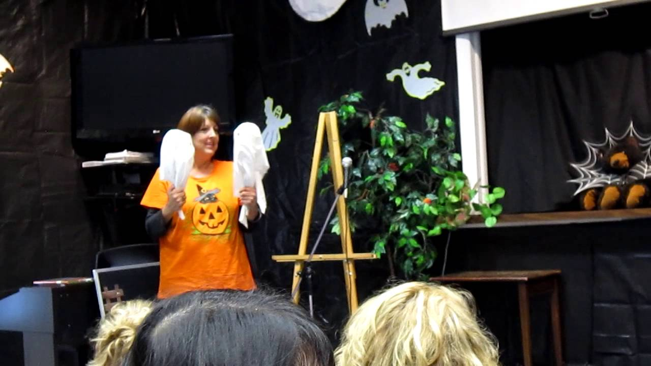 Puppet Show for kids- Halloween - Witch Story