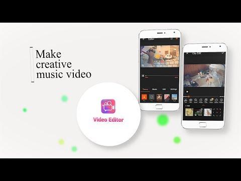Vídeo do Editor de Vídeo - Música, Cortar, Sem Cortar,image