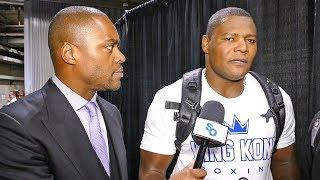 Luis Ortiz REACTION Deontay Wilder vs Tyson Fury DRAW!