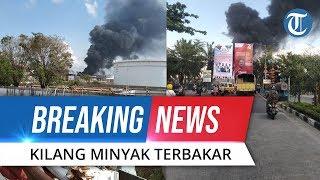 Breaking News: Kilang Minyak Pertamina di Balikpapan Terbakar Hebat, Asap Hitam Membumbung Tinggi