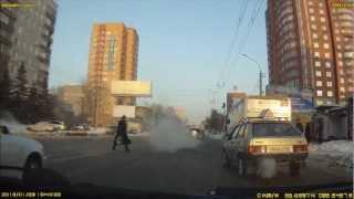 Как опасно переходить дорогу в не положенном месте