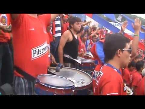 """""""LA TURBA ROJA 2011 parte1"""" Barra: Turba Roja • Club: Deportivo FAS"""